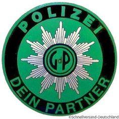 GdP Auto - Aufkleber Windschutzscheibe Polizei Polizeistern Sticker
