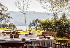 © Mis Lutier: Restaurante Pepe Vieira - Camiño da Serpe, 1 estrella Michelín (Poio - Pontevedra)