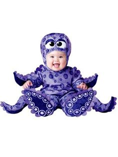 Tiny Tentacles Deluxe Costume Infant Toddler
