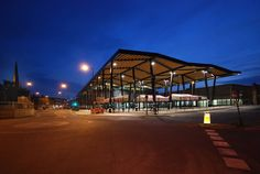 Built by Adjaye Associates in Bradford, United Kingdom A new market hall in Wakefield forming part of a wider regeneration of the Trinity Walk and Marsh Way area close to t...