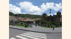 Perú - Cusco - vista de la plaza de armas - JHabich