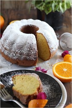 Κέικ Πορτοκάλι 6 Pound Cake, Cornbread, Doughnut, Cake Recipes, French Toast, Sweet Tooth, Food And Drink, Cooking Recipes, Sweets