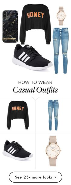 """casual"" by demuyncks on Polyvore featuring Mother, adidas and ROSEFIELD"