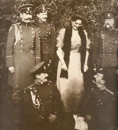 Alexandra and officers
