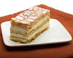 Mille-feuille classique à la crème pâtissière