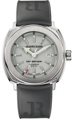Jean Richard Terrascope Grey Dial Stainless steel case #JeanRichard #TerraScope #WatchConnection #Watches #Professional #Ican #DailyWatch #WatchOfTheDay #Inspiration #classy #wristwatch #RealSmartWatch #PhotoOfTheDay #Love #instagood #me #luxury #success #MenWithStyle #WatchPorn #MensFashion #MensWatch #CostaMesa #OrangeCountyCa