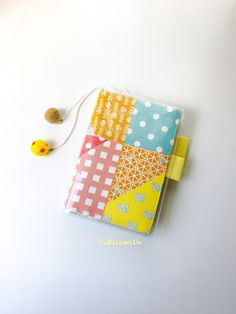 Handmade fabric planner cover suitable for A6 hobonichi planner. Planner cover size: 11.7cm x 16.2cm Planner insert size: 10.5cm x 14.6cm  2 OPTIONS for you: 1. A6 planner set included: - 1 no of A6 Colorful Pattern Collage/ Blue fabric cover. - 1 no of A6 PVC zipper protector cover. - 1 no of A6 planner (with self written ) monthly table, monthly & weekly plan, things to do pages, check list, favorite pages, line/ checkers pages.  2. A6 Colorful Pattern Collage/ Blue fabri...