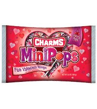 Charms Mini Pops, made by Tootsie, are free of peanuts and tree nuts according to the Tootsie website. In fact, Tootsie states that all of their products are peanut-free and tree-nut-free.