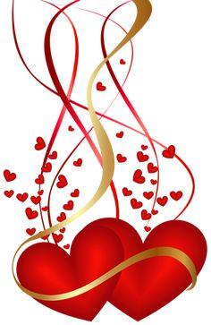 Valentine's Day Hearts...By Artist Unknown...