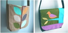 mmmcrafts: the basic messenger bag
