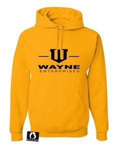 Adult Wayne Enterprises Sweatshirt Hoodie