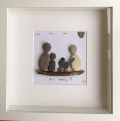 Bespoke Pebble Wall Art Picture Personalised Gift Family Quote New Baby in Home, Furniture & DIY, Home Decor, Wall Hangings | eBay!
