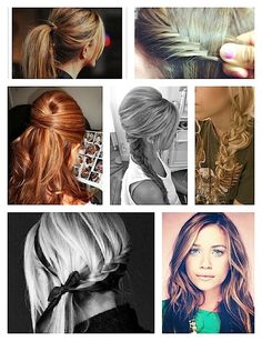 Hairstyles!!! Cute for everything you wear