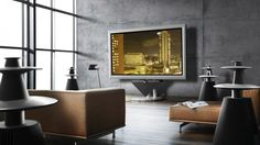 TV Couch Home Interior 3D
