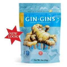 Gin Gins® Peanut Chewy Ginger Candy | The Ginger People®