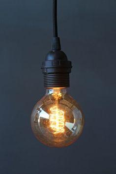 Deco Globe Vintage Style Light Bulb - 25W ES27 SCREW FITTING   Rockett St. George