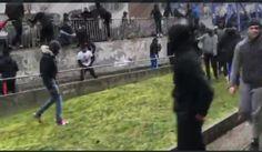Feral Muslim Migrants Shout 'Allah Akbar', Attack Police In France (VIDEOS)