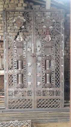 Living Room Partition Design, Room Partition Designs, Iron Gates, Iron Doors, Welding Workshop, Arched Wall Decor, Grill Door Design, Iron Gate Design, Steel Gate