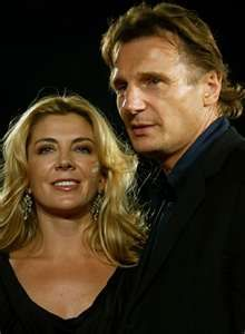 Liam Neeson and Natasha Richardson RIP Beautiful Natasha. Liam Neeson, Celebrity Couples, Celebrity Weddings, Famous Murders, Natasha Richardson, Divas, Vanessa Redgrave, Cinema, Famous Couples