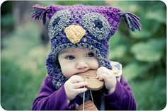 Woolly Owl Hat 0-6 months, 6-12 months, 1-3 years, 4-7 years Free Download