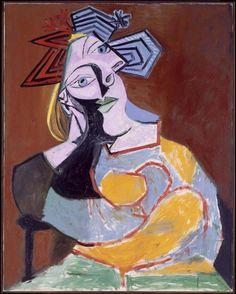 Pablo Picasso - Mujer sentada acodada