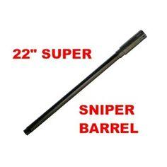 "3Skull Paintball 22"" 2 Piece Super Sniper Barrel - Tippmann 98 Thread. Available at UltimatePaintball.com"