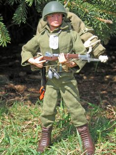 Vintage GI Joe Action Soldier, Combat Field Pack Set, # 7502