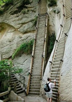 Mother of all stairs.