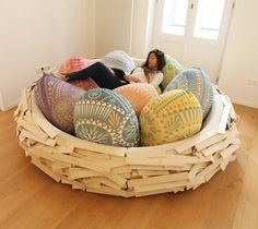 Beanbags Are So Passé. Bird Nests Are Where It's At.