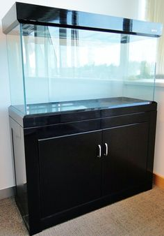 120cm 4ft 90L Open Top Aquarium Cabinet Fish Tank Tropical/ Marine ...