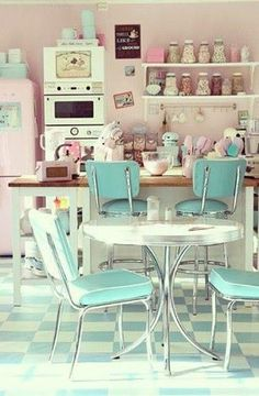 American kitchen 50s