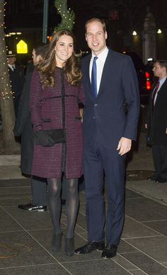 7 Dec 2014:  The Duke And Duchess Of Cambridge Arrive In New York