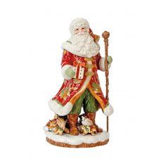 Bountiful Holiday Santa Figurine/Vase | Fitz and Floyd