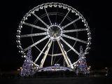 Ferris Wheel at Place De La Concorde  Paris  France  Europe