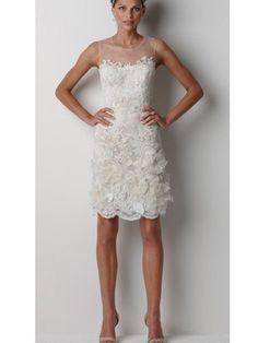 Tight Bateau Cap Sleeve Non Strapless Tank Satin Organza Wedding Dress