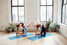 Sky Ting Yoga Instructors Share Stretches You Need to Know: We asked our friends, Sky Ting Yoga's Krissy Jones and Chloe Kernaghan, to bring us back to the basics with the five fundamental stretches to perfect before our next class. -- CAMEL POSE. | Coveteur.com