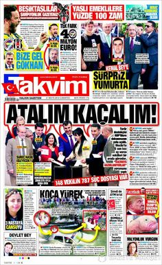 #20160521 #TürkiyeHABER #TURKEY #TurkeyTodayNEWSpapers20160521 Saturday MAY 21 2016 http://en.kiosko.net/tr/2016-05-21/ + http://www.trthaber.com/foto-galeri/gazete-mansetleri-21-mayis-2016/10486/sayfa-11.html <+> #TAKVIM20160521 http://en.kiosko.net/tr/2016-05-21/np/takvim.html