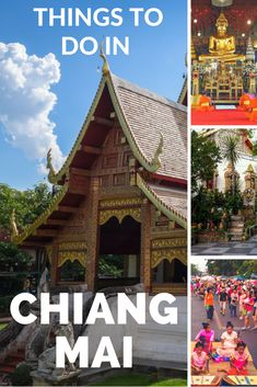 Heading to Thailand? Make sure you travel north to Chiang Mai. Here is a great list of things to do in Chiang Mai so you don't miss out on anything. Put Chiang Mai on your list of places to visit in Thailand. #thailand #thingstodo #southeastasia