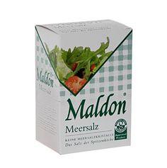 Maldon Sea Salt Flakes aus England (Salz) - 250 g - Päckchen - www.gourmet-versand.com