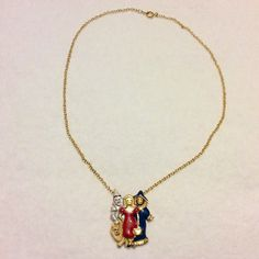 A personal favorite from my Etsy shop https://www.etsy.com/listing/385736648/vintage-1960s-wizard-of-oz-necklace