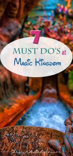 Fun ideas and articles about Disney Trip Planning -- Pin now read later - 7 Must Do's at the Magic Kingdom Disney Magic Kingdom, Magic Kingdom Orlando, Magic Kingdom Tips, Disney World Parks, Disney World Vacation, Disney Vacations, Disney World Must Do, Disney Travel, Disney Vacation Planning