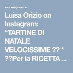 """Luisa Orizio on Instagram: """"TARTINE DI NATALE VELOCISSIME 😍🎄 * ▶️Per la RICETTA vai sul mio profilo 👉 @allacciateilgrembiule poi clicca il link blu del blog e nel box…"""" Instagram, Boxing"""