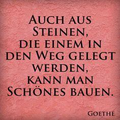 Der gute, alte Goethe....