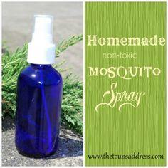 Homemade Mosquito Spray - The Toups Address