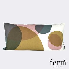 Buy your Large Melt Pillow by ferm LIVING here. Made from organic cotton canvas. Why we love ferm LIVINGferm LIVING dra Dot And Bo, Modern Colors, Danish Design, Beautiful Patterns, Soft Furnishings, Decoration, Furniture Making, Copenhagen, Decorative Accessories