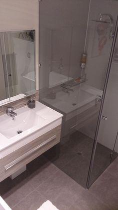 Frameless Glass Showers are all the rage in the modern Australian Bathroom. Bathroom Renos, Bathrooms, Glass Showers, Rage, Sink, Modern, Home Decor, Toilets, Homemade Home Decor