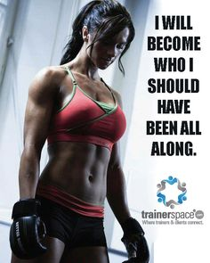 Become the You You're Supposed to Be #motivate #fitness #healthybody