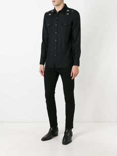 #saintlaurent #men #star #shirt #black #new #style #fashion www.jofre.eu