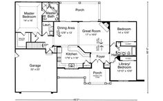 Main Floor Plan: 23-425