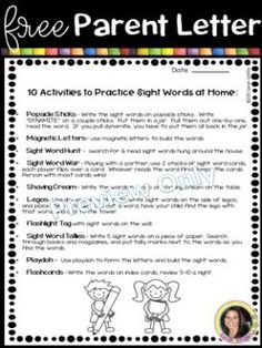 10 Sight Word Activities for Home or the Classroom Are you looking to build strong readers? These 10 simple sight word activities will help your reader build fluency, reinforce high frequency words, and engage them with Teaching Sight Words, Sight Word Practice, Sight Word Games, Sight Word Activities, Fun Activities, The Words, Cool Words, Popcorn Words, Word Games For Kids